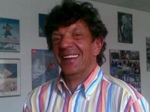 Mario Merelli nella redazione di Montagna.tv
