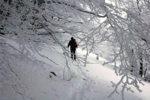 Scialpinismo - monte Rotella 2 (Maria di Gregorio)