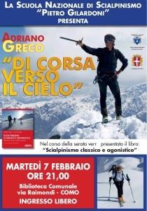 Adriano Greco a Como