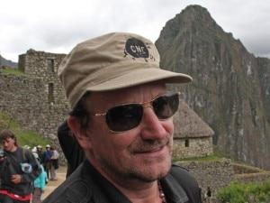 Bono a Machu Picchu (Photo EFE)
