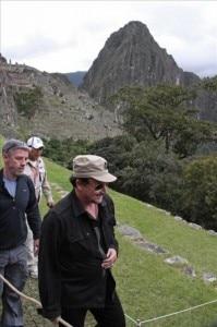 Bono visita Machu Picchu