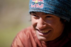 David Lama  (Photo Franz Behind Brandtner - Red Bull Contentpool)