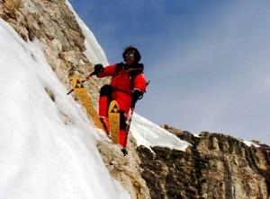 Hans Kammerlander sugli sci (Photo courtesy sarntal.com)