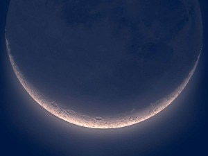 La luna che sorride (Photo courtesy 3bmeteo.com)