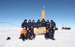 Il team dei ricercatori russi