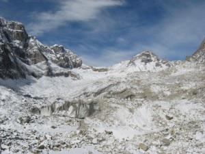 Il ghiacciaio del Chnagri Nup