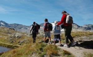 In montagna con la famiglia (Photo torinopiupiemonte.com)