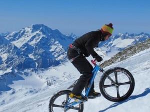 Brumotti al Bernina (Photo Juri Baruffaldi)
