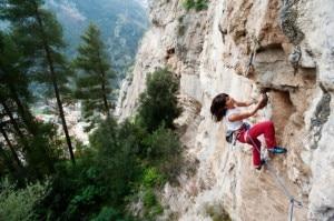 Giovanna Pozzoli a monte Ziro