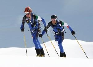 La coppia Reichegger Holzknecht nell'edizione 2009