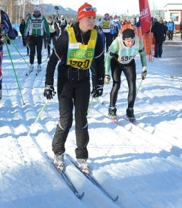 Pippa Middleton durante la Vasaloppet Cross Country Ski Race (Photo courtesy of GoffPhotos.com)