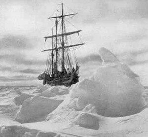 La nave Endurance (Photo Shackleton Expedition Photography)