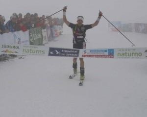 Heinz Verbnjak all'Oetzi Alpin Marathon 2010 (Photo sportnews.bz)