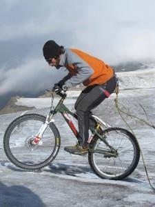 Brumotti al Monte Cevedale (Photo Juri Baruffaldi)