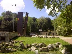 La nuova torre di arrampicata a Bassiano