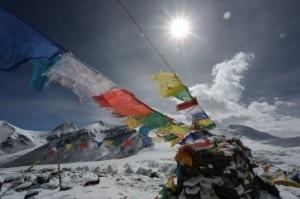 Campo base avanzato Everest Nord (Photo courtesy ferranlatorre.com)