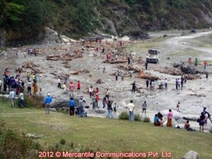 Esondazione del Seti (Photo Mercantile Communications courtesy of nepalnews.com)
