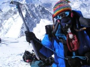 Jacques Pirenne sull'Everest