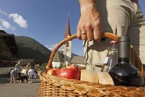 Mercato contadino in Val d'Ultimo