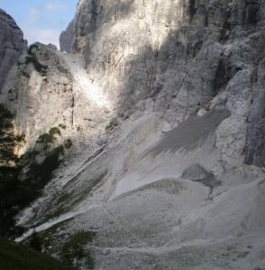 Un tratto del sentiero Chersi (Photo courtesy of www.panoramio.com/user/4723117)