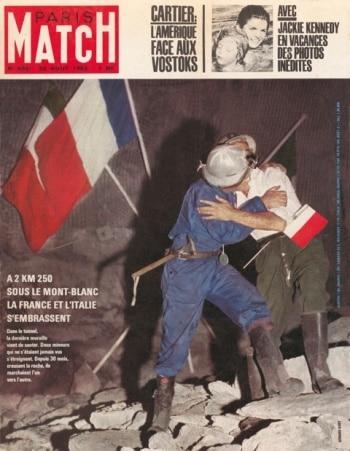 La Copertina del Paris Match (Photo courtesy Omniarelations)