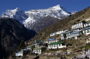 Namche Bazaar (Photo cameronmcneish.co.uk)