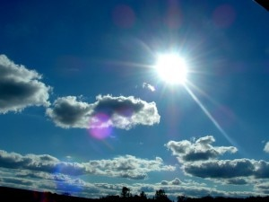 Sole e nuvole (photo viagginews.com)