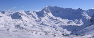 Uno degli impianti di risalita del ghiacciaio di Tignes (Photo courtesy of fr.academic.ru)