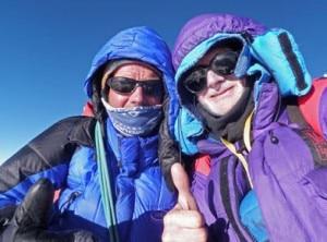 Allen e Allan titanici sulla Mzeno Ridege (Photo Mazenoridge.com)