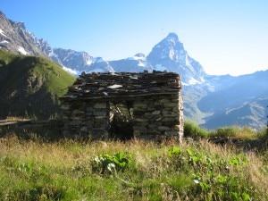 Alpeggi abbandonati