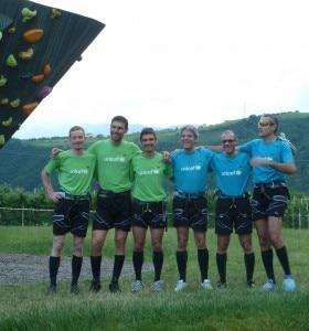 Giocatori di calcio in parete (Photo courtesy Salewa ldlcom.it)