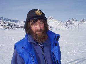 Konjuchov in Groenlandia (Photo courtesy www.konyukhov.ru)