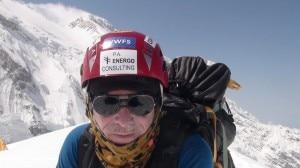 Peter Hamor sul Kangchenjunga (Photo courtesy Explorersweb.com)