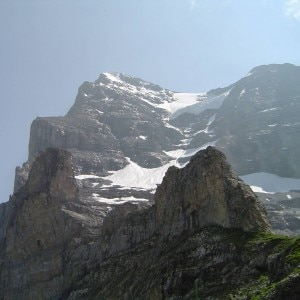 Il versante ovest dell'Eiger (Photo courtesy of www.pressage.co.uk)