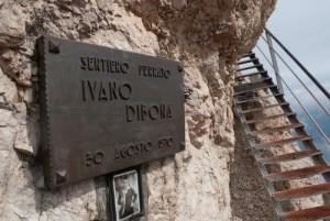 L'attacco della via ferrata dedicata ad Ivano Dibona sul Monte Cristallo (Photo courtesy of www.panoramio.com)