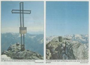 Ortles, la vetta senza croce (Photo courtesy Dolomiten)