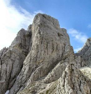 Spigolo Nord della Cima Alta di Rio Bianco (Photo courtesy of www.cimefvg.it)