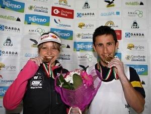 Angela Eiter e Ramón Julian Puigblanque