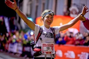 Lizzy Hawker wins the Ultra-Trail du Mont Blanc 2011