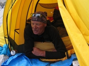 Mondinelli in tenda (Photo archivio)