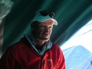 Silvio Mondinelli campo base (Foto d'archivio)