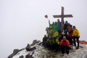 La nuova croce al Cevedale (Photo courtesy Cai Valfurva)