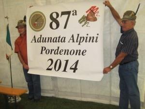 Adunata a Pordenone (Photo courtesy alpini-pordenone.it)