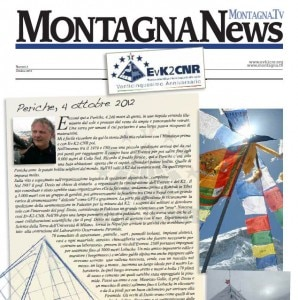Montagna News - Speciale 25 anni Evk2Cnr