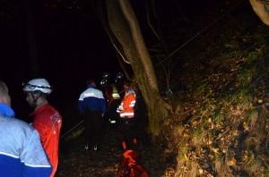 I soccorsi durante le operazioni di salvataggio (Photo courtesy Rescue Media/ www.tio.ch)