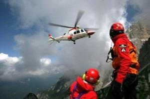 Elicottero Suem Pieve di Cadore (Photo Archivio)