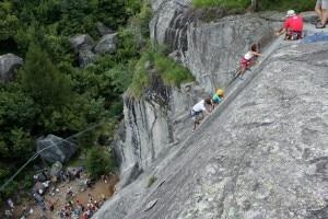 Estate 2012 - Festa delle Guide Alpine, Valmasino (Photo Luca Maspes)