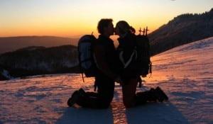 Bacio in montagna (photo courtesy 4ever.eu)