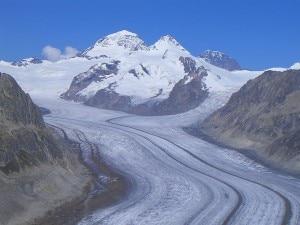 Ghiacciaio dell'Aletsch (Photo Mike Peel)
