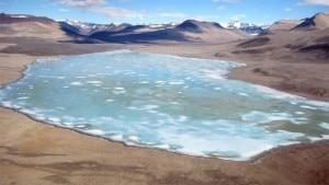 Lago Vida (Photo Hilary Dugan courtesy of The Antarctic Sun)